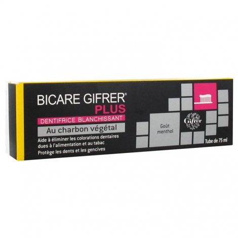 Bicare Gifrer Plus Dentifrice Blanchissant 75ml pas cher, discount