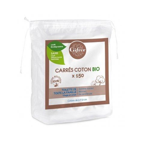 Gifrer Carrés Coton Bio x150 pas cher, discount