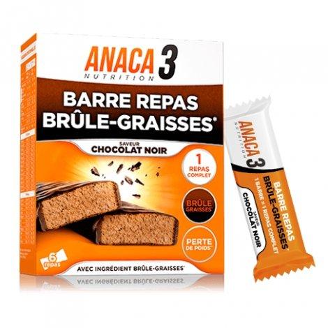Anaca 3 Barre Repas Brûle-Graisses 6 barres pas cher, discount