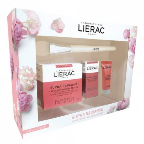 Lierac Coffret Supra Radiance - Crème 50ml + 3 Cadeaux pas cher, discount