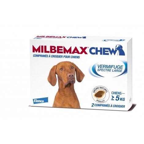 Elanco Milbemax Chew Vermifuge Spectre Large 2 comprimés à croquer pas cher, discount