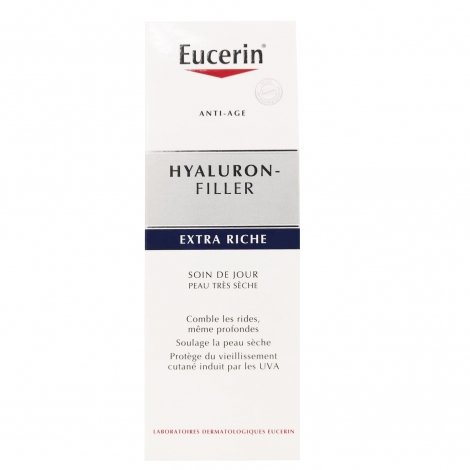 Eucerin hyaluron-filler soin de jour extra riche 50 ml pas cher, discount