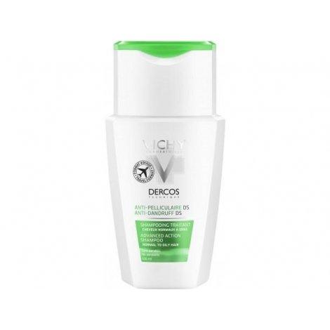 Vichy Dercos shampoing anti-pel cheveux gras 100ml pas cher, discount
