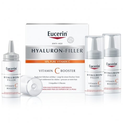 Eucerin Hyaluron-Filler Anti-Age Vitamine C Booster 3 Flacons pas cher, discount