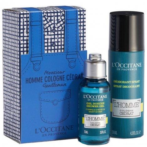 L'Occitane en Provence - Monsieur Homme Cologne Cédrat Gentleman pas cher, discount