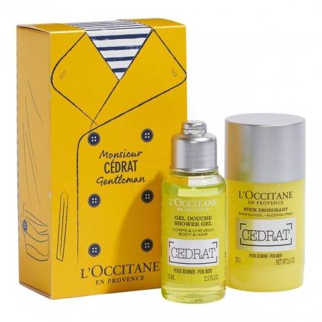 L'Occitane en Provence - Monsieur Cédrat Gentleman pas cher, discount