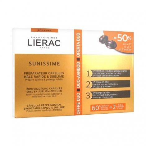 Lierac Solaire Offre Duo Sunissime 60 capsules pas cher, discount