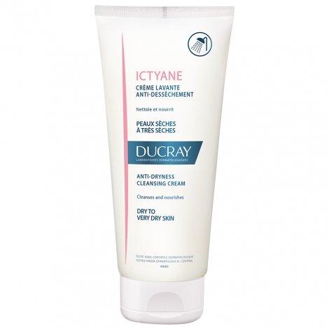 Ducray Ictyane Crème Lavante Anti-Dessèchement 200ml pas cher, discount