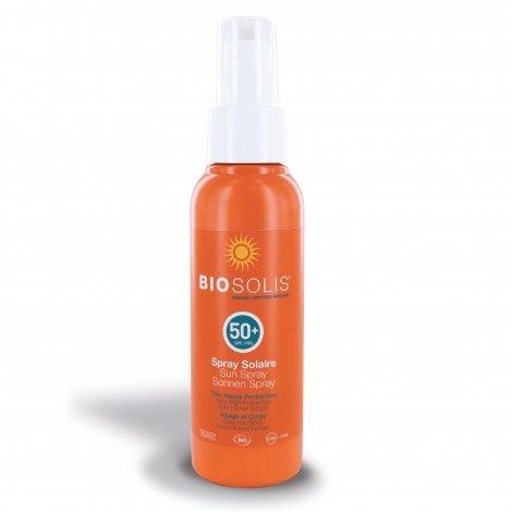 Biosolis Spray Solaire SPF50+ 100ml pas cher, discount