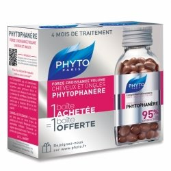 Phyto Phytophanère Cheveux et Ongles Lot de 2 x 120 capsules