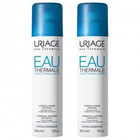 Uriage Duo Pack Eau Thermale Brumisateur 2x300ml pas cher, discount