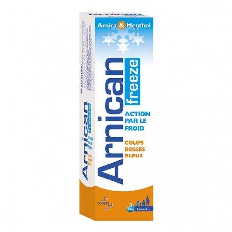 Arnican Freeze Action par le Froid Coups Bosses Bleuw Arnica & Menthol Gel 100g  pas cher, discount