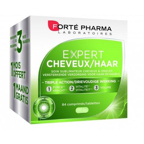 Forte Pharma Expert cheveux tripack 3x28 comprimés pas cher, discount