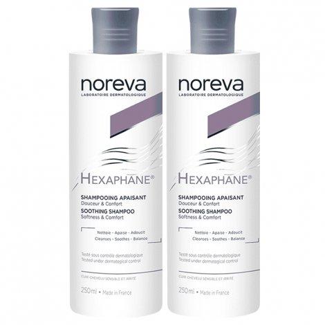 Noreva Hexaphane Shampooing Apaisant Duo 2 x 250ml pas cher, discount