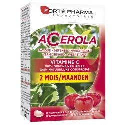 Forte Pharma Energie Acérola Format 2 Mois 60 comprimés