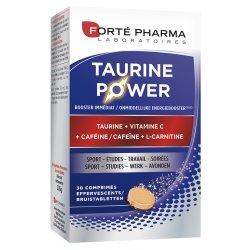 Forte Pharma ENERGIE Taurine Power Taurine, Caféine, Vitamine C x30 comprimés