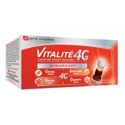 Forte Pharma Vitalité 4G Dynamisant 10 Shots