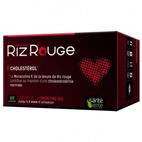 Santé Verte Levure de Riz Rouge 600 mg 60 comprimés pas cher, discount