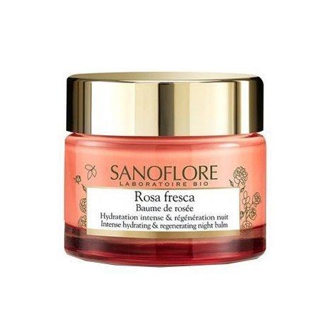 Sanoflore Rosa Fresca Baume de Rosée Nuit 50ml  pas cher, discount