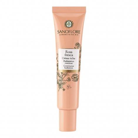 Sanoflore Rosa Fresca Crème Riche 40ml  pas cher, discount