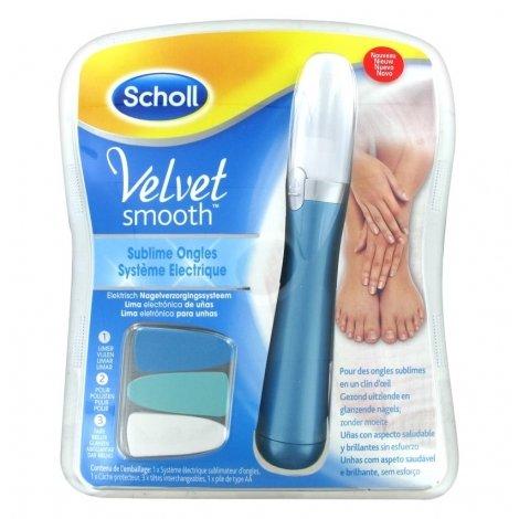 Scholl Velvet Smooth Sublime Ongles Système Electrique pas cher, discount