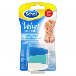Scholl Velvet Smooth Sublime Ongles Kit de Remplacement