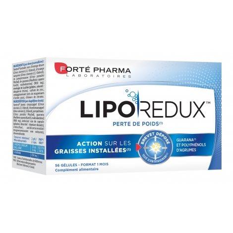 Forte Pharma Liporédux 900mg 56 gélules pas cher, discount