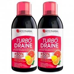 Forte Pharma Duo Pack Turbodraine Agrumes 2x500ml
