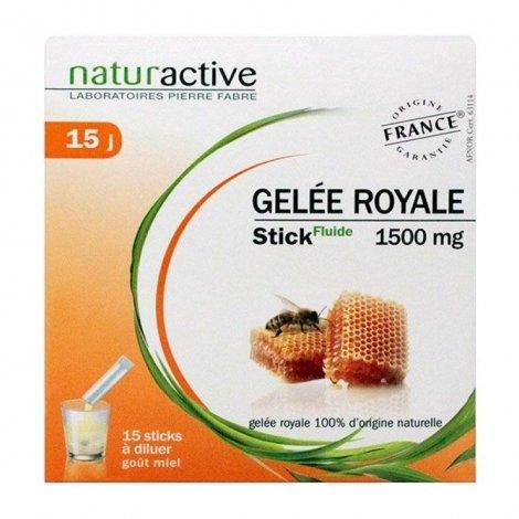 Naturactive Gelée Royale Stick Fluide 15 sticks pas cher, discount