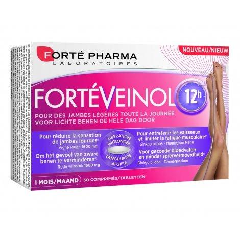 Forte Pharma Forté Veinol 12H 30 comprimés pas cher, discount