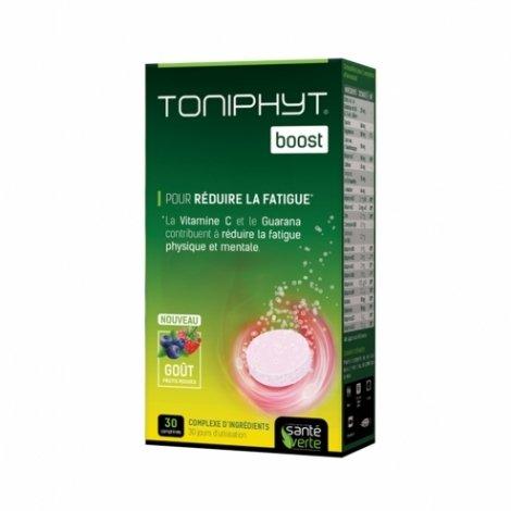 Santé Verte Toniphyt Boost Fruits Rouges 30 comprimés pas cher, discount