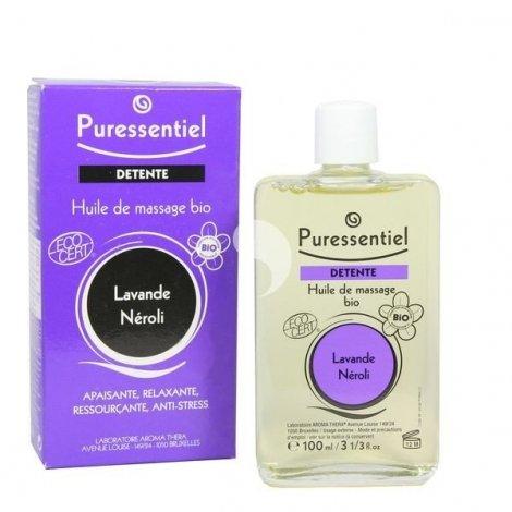Puressentiel Détente : Huile de Massage Bio 100 ml pas cher, discount