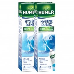 Humer Hygiène du Nez Spray Nasal Lot de 2 x 150ml