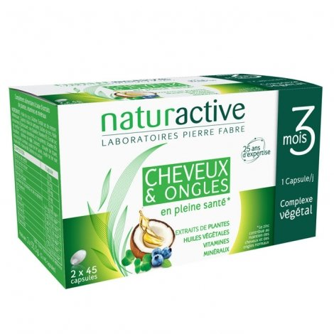 Naturactive Doriance Cheveux & Ongles 2x45 Capsules pas cher, discount