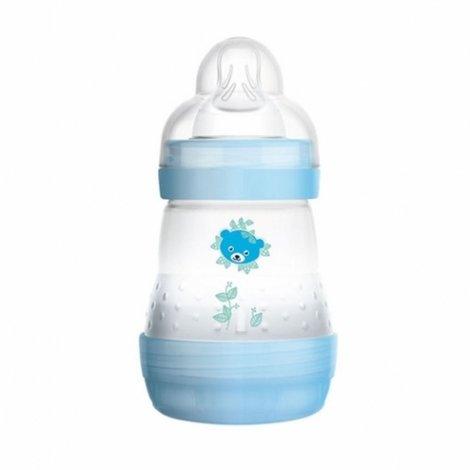Mam Biberon Anti-Colique 0-6 Mois 160 ml Transparent Motifs Bleu pas cher, discount