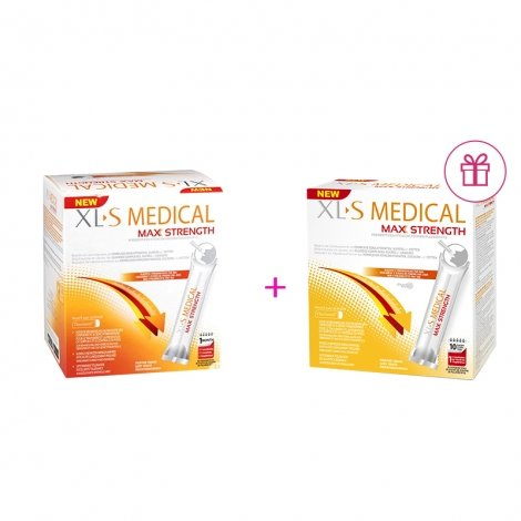 XLS Medical Max Strenght/Extra Fort 60 sticks + XLS Medical Max Strenght/Extra Fort 20 sticks GRATUIT pas cher, discount