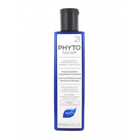 Phyto Phytosquam Shampooing Relais Antipelliculaire Hydratant 250ml pas cher, discount