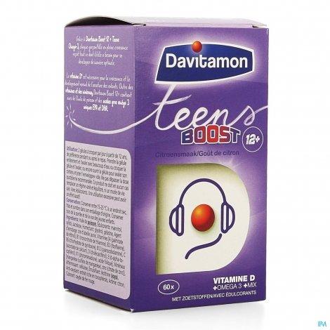 Davitamon Boost Teens Omega-3 60 capsules pas cher, discount