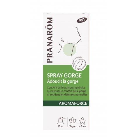 Pranarom Aromaforce Bio Spray Gorge 15ml pas cher, discount