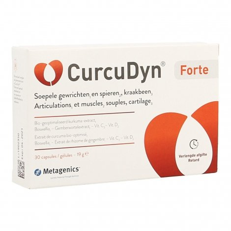 Metagenics CurcuDyn Forte 30 capsules pas cher, discount
