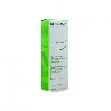Bioderma Sébium Night Peel Concentré Lissant 40ml pas cher, discount