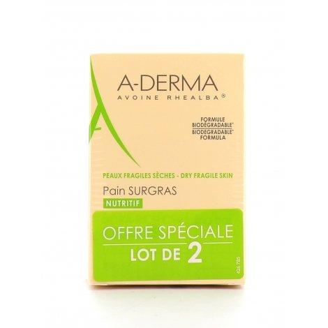 A-Derma Duo Pain Surgras Nutritif 2x100g pas cher, discount