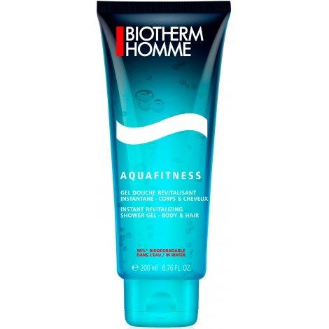 Biotherm Homme Aquafitness Gel Douche Revitalisant 200ml pas cher, discount