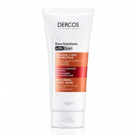 Vichy Dercos Kera-Solutions Masque 2 Min. Réparateur 200ml pas cher, discount