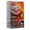 3 Chênes Color & Soin Coloration Permanente 4A - Marron Glacé 60ml
