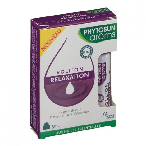 Phytosun Aroms Roll'On Relaxation 5ml pas cher, discount