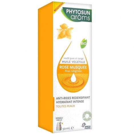 Phytosun Aroms Huile Végétale Rose Musquée Bio 50ml pas cher, discount