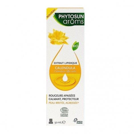 Phytosun Aroms Extrait Lipidique Calendula Bio 50ml pas cher, discount