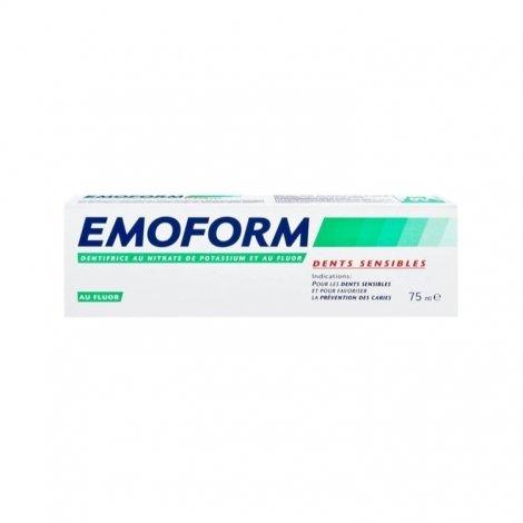 Emoform Dents Sensibles Dentifrice au Fluor 75ml pas cher, discount