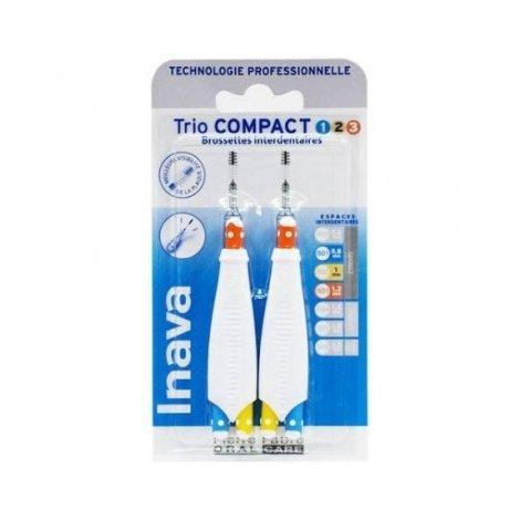 Inava Trio Compact 123 Brossettes Interdentaires pas cher, discount